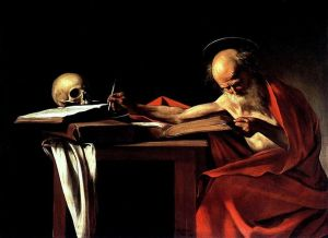 St. Jerome and skull