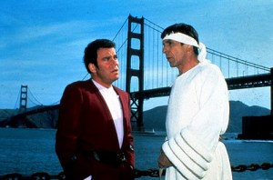 William Shatner and Leonard Nimoy in Star Trek IV