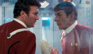 Kirk sees Spock die