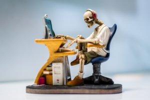 Skeleton writing