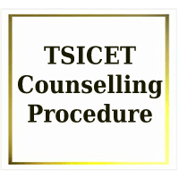 TSICET Counselling Procedure