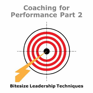 Bitesize Leadership Techniques – Coaching for Performance Part 2