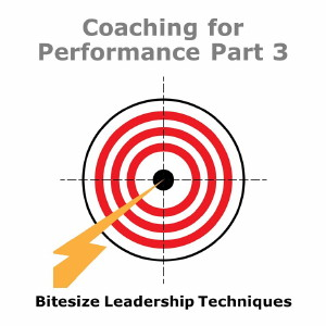 Bitesize Leadership Techniques – Coaching for Performance Part 3