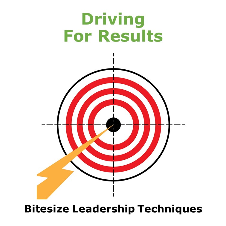 Bitesize Leadership Techniques – Driving for Results