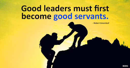 To improve organisational health and well-being, you need Servant-leadership