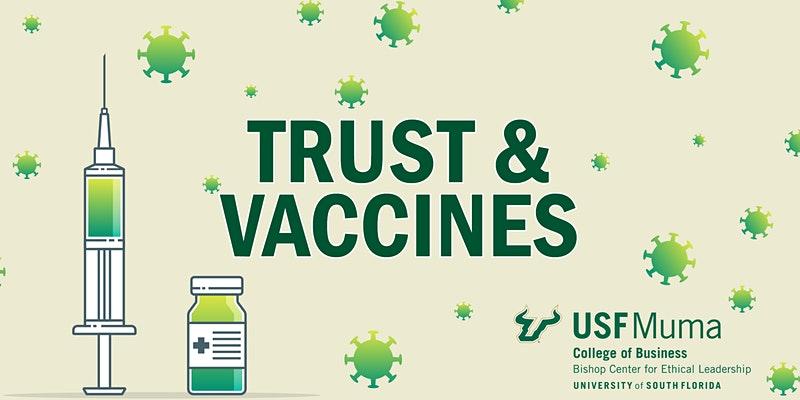 Trust & Vaccines event graphic