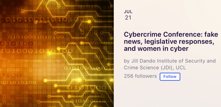 cybercrime conference event image