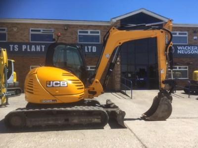 2013 JCB 8085 ZTS Midi Excavator