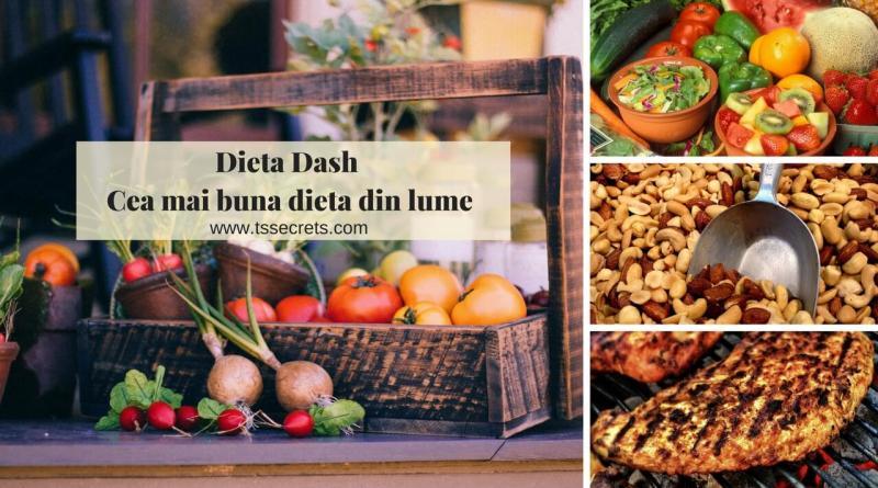 Dieta Dash cea mai buna dieta din lume
