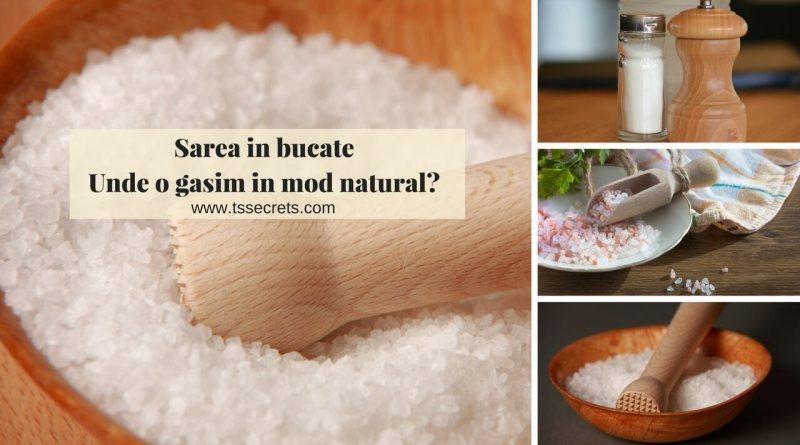 Sarea in bucate surse de sare