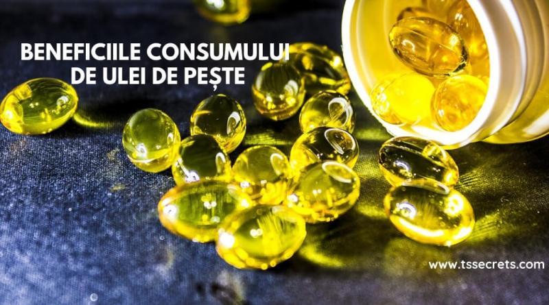 ulei de peste beneficii