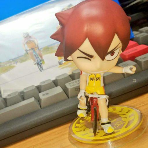 星馬烈くん&鳴子章吉くんがロードバイクに乗ってます