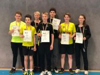 Schülermannschaft holt Bronze bei den westdeutschen Mannschaftsmeisterschaften