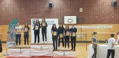 Jule, Knarik und Julie mit Bronze bei A-Rangliste