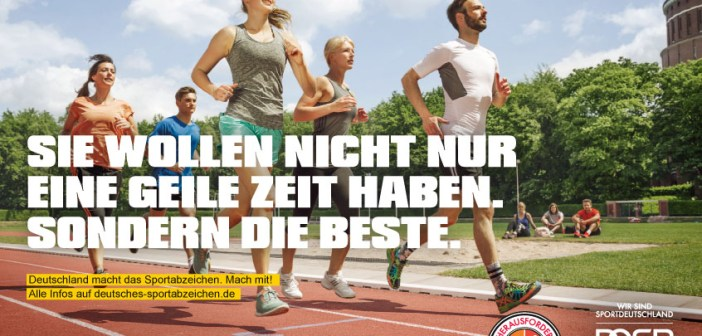 DOSB Kampagne Sportabzeichen
