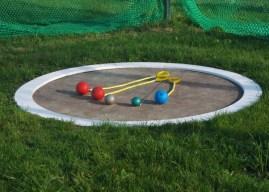 Neue Trainingsgeräte für die Leichtathletikgruppe