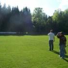 Trainerstab der D-Jugend des TSV Spiegelau