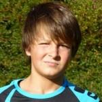 Lukas Schrepel, erzielte vier Tore und machte eine klasse Partie!