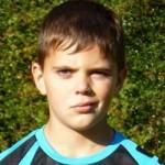 D-Jugend-Spieler Johann Czernoch machte ein super Spiel in der C!