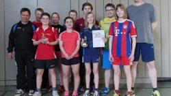 Jugendmannschaften des Sparte Tischtennis des TSV Spiegelau