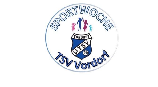 Sportwoche des TSV Vordorf vom 10. – 19.06.2016