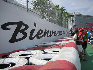 Circuit Gilles Villeneuve Famous Wall of the C...