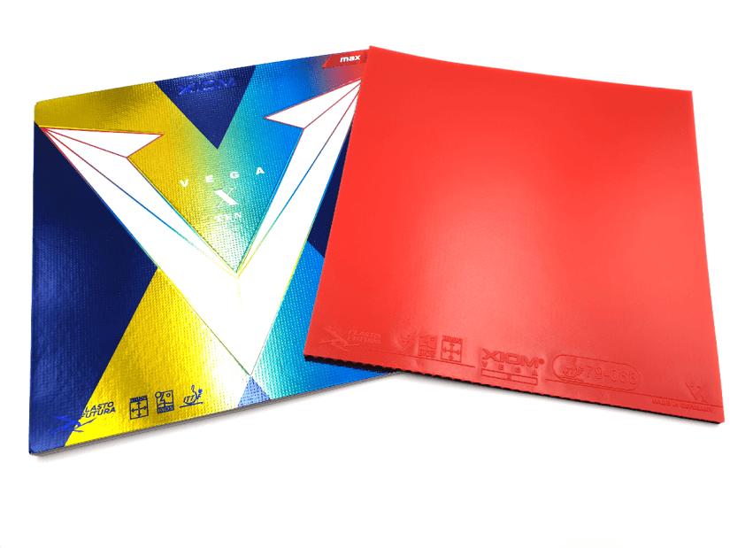Xiom Vega X TT rubber