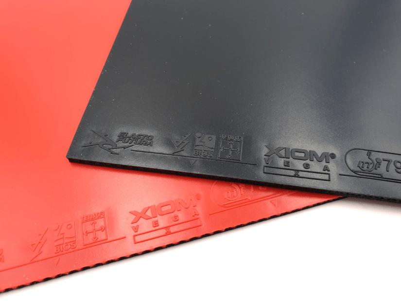 Xiom Vega X table tennis rubbers