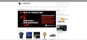 Spinfactory Startseite