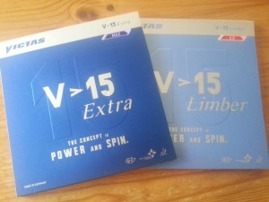 Victas V15 Extra und V15 Limber