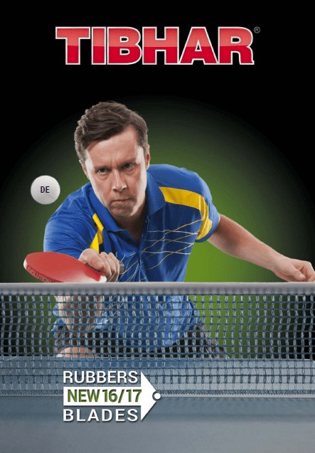 Tibhar Tischtennis Katalog 2016-17