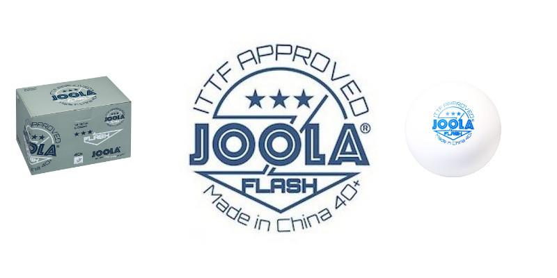 JOOLA Flash 40+ Plastikbälle aus Zelluloid? Das sagt Joola dazu