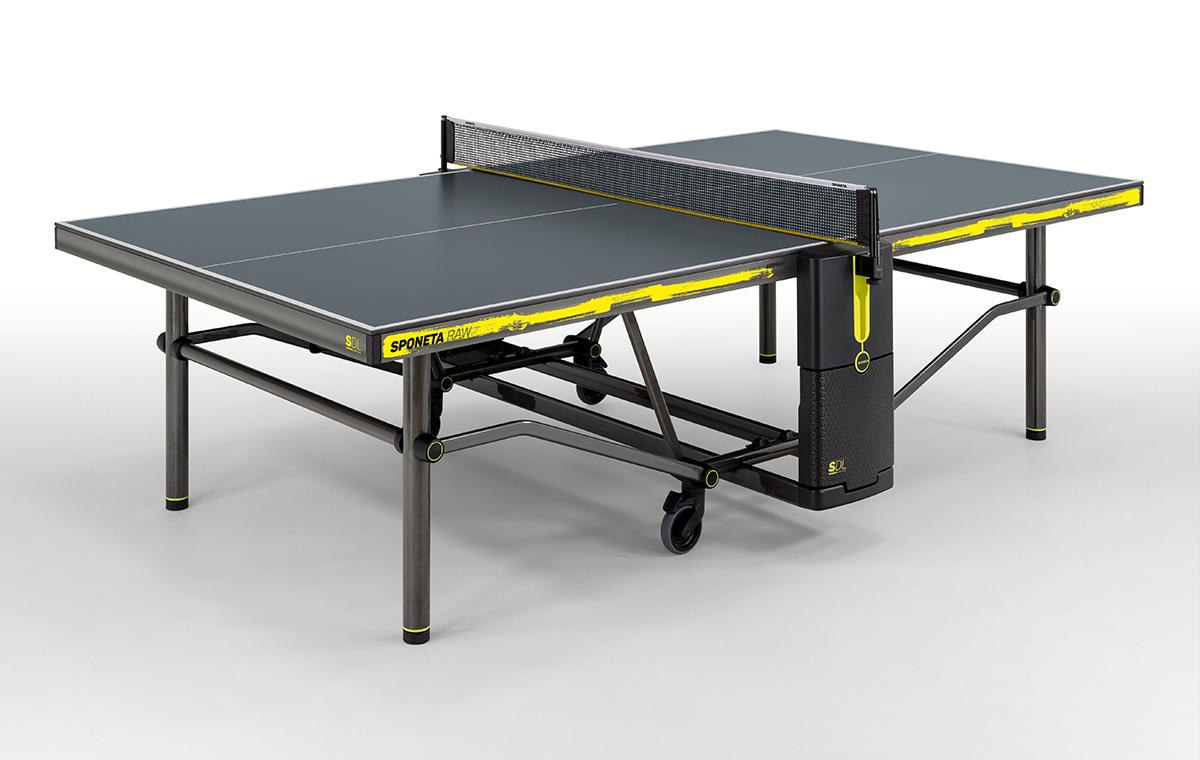 Sponeta SDL Raw Outdoor Tischtennisplatte