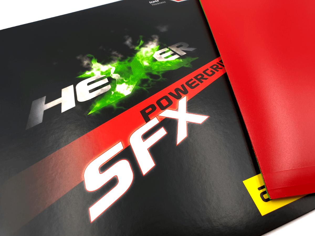 andro Hexer Powergrip SFX Test