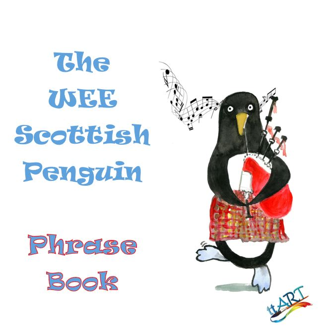 the wee scottsih penguin phrase book front cover