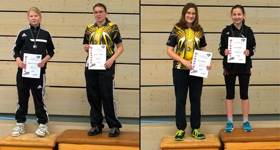 Jugend-Rangliste 2016: Xenia & Eva