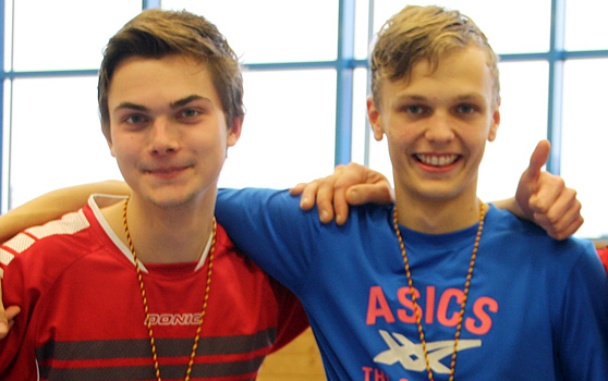 David Rieß und Jonathan Körber