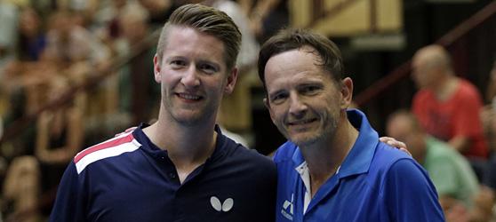 Ruwen Filus (links) und Jean-Michel Saive