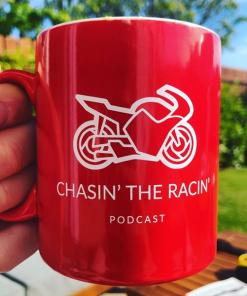 Beautiful day beautiful mug, Chasin the Racin Mug