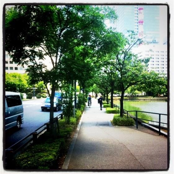 ランニング日誌(11/06/29)猛暑日!灼熱皇居11kmラン!