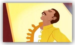 僕らのフレディがGoogleに!!生誕65周年でQueenの故・Freddie Mercuryが大熱唱!