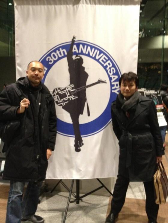 凄かった!布袋寅泰30th Anniversaryライブに行ってきた!