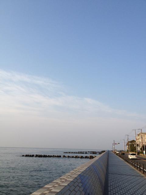 湘南海岸10.5kmラン [カラダログ 2012/04/09]