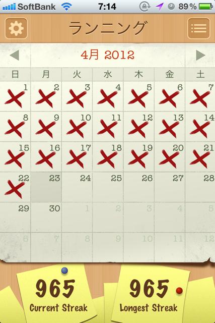 ハッピーウィークエンド  [カラダログ 2012/04/22]