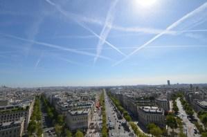 パリの凱旋門は屋上まで昇るとずっと楽しい 〜 美しすぎるパリ写真日記 [2012年夏 ヨーロッパ旅行記 その14]
