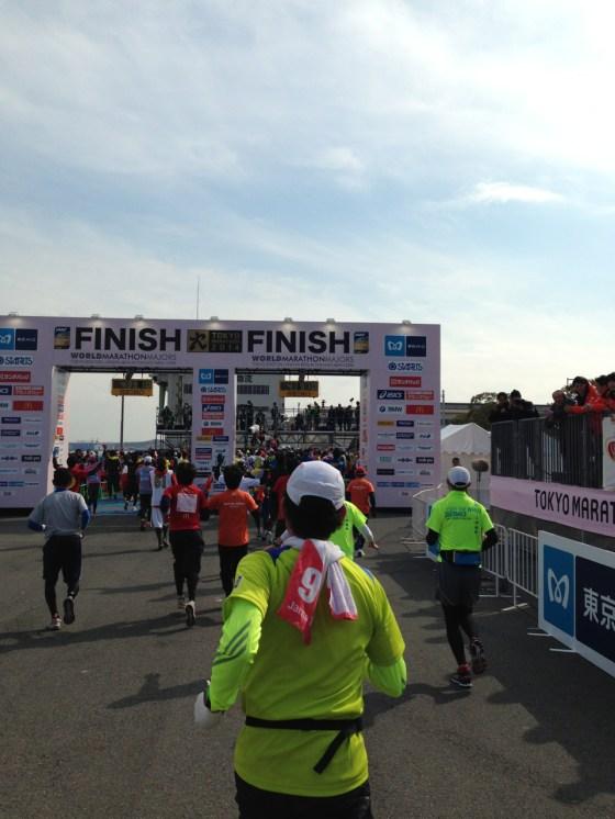 東京マラソン2014 自己ベスト更新 4時間39分で完走しました!応援ありがとうございました!!