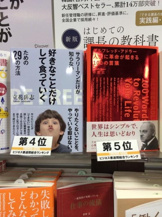 訪れた書店で自著と気になる本を一冊ずつ買う習慣 [日刊たちばな vol.20]