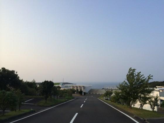 四国南端 足摺岬で早朝1kmラン! [2014福岡・高知旅行記 その5]