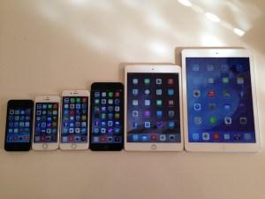iPad mini 3 128GB WiFi + Cellular モデル ゴールド SIMフリーモデル を購入!開封の儀 & iPhone 6/6Plus・iPad Airとのサイズ比較!!