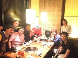 2015年7月 名古屋旅日記 3日目 — 出張個人コンサル、味噌カツ、焼肉祭りと同級生と二次会な一日♪